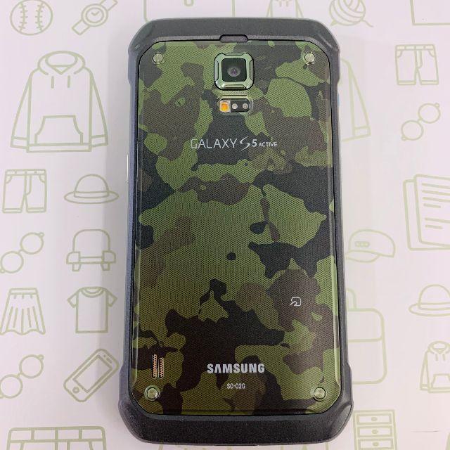 Galaxy(ギャラクシー)の【C】GALAXYS5Active/SC-02G/16/ドコモ スマホ/家電/カメラのスマートフォン/携帯電話(スマートフォン本体)の商品写真