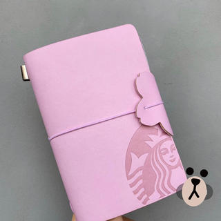 Starbucks Coffee - 海外  スターバックス ノート 桜 手帳 一冊