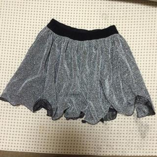 ダズリン(dazzlin)のラメフリルスカート(ひざ丈スカート)