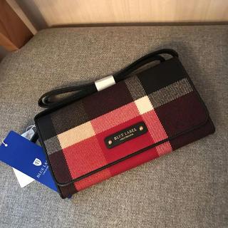 バーバリーブルーレーベル(BURBERRY BLUE LABEL)の新品 クレストブリッジ   ウォレット(財布)
