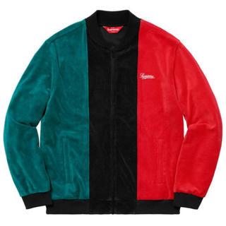 シュプリーム(Supreme)のSupreme Velour Zip Up Jacket M(ブルゾン)