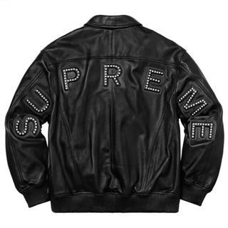 シュプリーム(Supreme)のSupreme Studded Arc Logo Leather Jacket (レザージャケット)