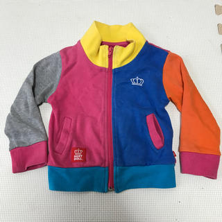 ベビードール(BABYDOLL)の子供服 パーカー 80 BABYDOLL(カーディガン/ボレロ)