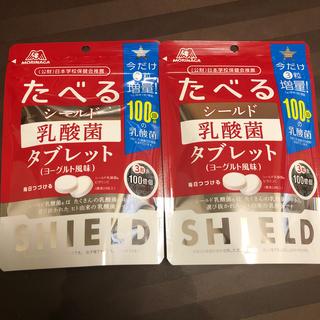 モリナガセイカ(森永製菓)の◆今だけ増量!◆ たべるシールド乳酸菌タブレット×2(その他)