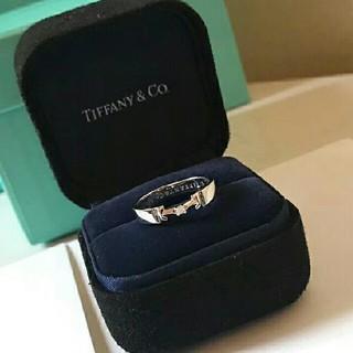 ティファニー(Tiffany & Co.)の☆美品☆Tiffany&Co リング指輪  レディース(リング(指輪))
