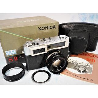 KONICA MINOLTA - 昭和の名機!コニカ「KONICA SⅡ」完動極美品!