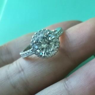 ティファニー(Tiffany & Co.)の美品Tiffany&Co.ティファニー リング指輪 ギラギラ レディース(リング(指輪))