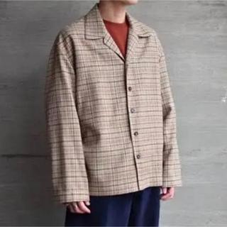 COMOLI - auralee  18ss シャツジャケット シルク 4