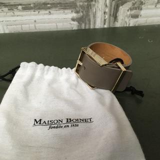 UNITED ARROWS - フランス製 Maison Boinet ブレスレット USED
