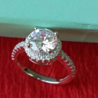 ティファニー(Tiffany & Co.)のTiffany &Co. レディース リング 指輪 ダイヤモンド 超美品(リング(指輪))