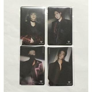 WINNER ミュージックカード 4枚セット 未使用品(K-POP/アジア)