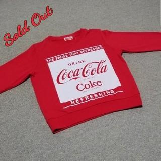 トレーナー Coca-Cola Red (トレーナー/スウェット)