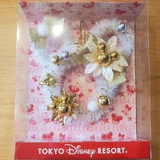 ディズニー(Disney)のディズニー クリスマス リース ホワイト(リース)