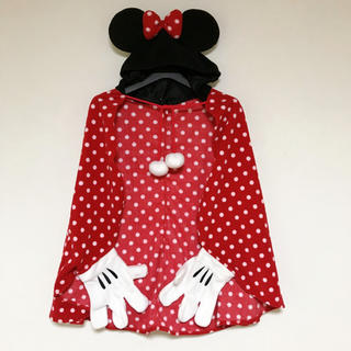 ミニーマウス - 大人サイズ♪ ポンチョ ケープ ミニーマウス disny 膝掛け ミニー 正規品