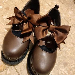 アンクルージュ(Ank Rouge)のアンクルージュ 厚底靴(ローファー/革靴)