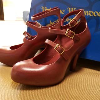ヴィヴィアンウエストウッド(Vivienne Westwood)のヴィヴィアン Vivienne Westwood パンプス 靴 ヒール 3連  (ハイヒール/パンプス)