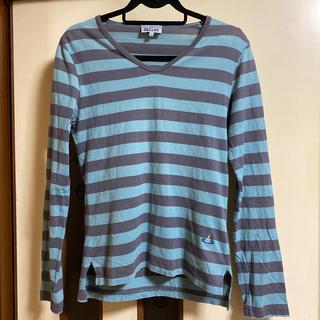 ヴィヴィアンウエストウッド(Vivienne Westwood)のヴィヴィアンウェストウッドボーダーシャツ☆(Tシャツ/カットソー(七分/長袖))