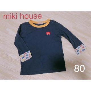 mikihouse - ミキハウス ロンT 80