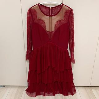 ビーシービージーマックスアズリア(BCBGMAXAZRIA)のthree floor スリーフロア ドレス(ミニドレス)