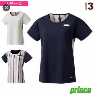 プリンス(Prince)の[プリンス テニス・バドミントン ウェア(レディース)]ゲームシャツ(ウェア)