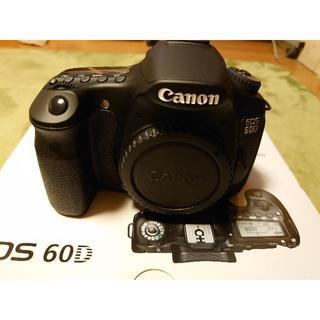 キヤノン(Canon)のCanon eos 60Dデジタル一眼レフカメラ(デジタル一眼)