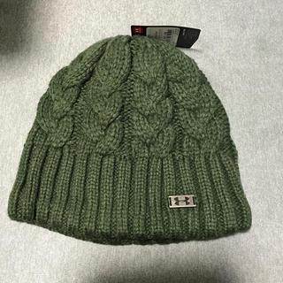 アンダーアーマー(UNDER ARMOUR)のANDER ARMOURニット帽(ニット帽/ビーニー)