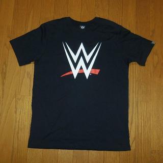 しまむら - Lサイズ WWEロゴTシャツ プロレス