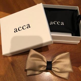 アッカ(acca)のacca サテンバレッタ(バレッタ/ヘアクリップ)
