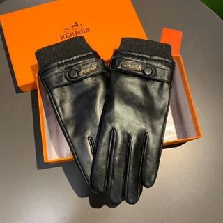 エルメス(Hermes)の  Hermes 素敵レザー手袋(手袋)