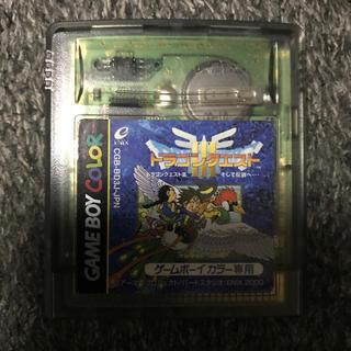 ゲームボーイ(ゲームボーイ)のドラゴンクエストⅢ  ドラクエ3  ゲームボーイカラー(携帯用ゲームソフト)