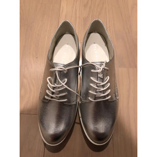 靴 シルバー M(スニーカー)