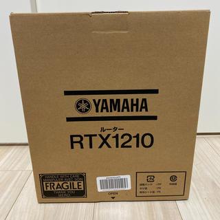 ヤマハ(ヤマハ)の新品未開封 ヤマハ YAMAHA RTX1210(PC周辺機器)