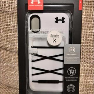 アンダーアーマー(UNDER ARMOUR)の【新品】アンダーアーマー iPhoneX/Xs ケース(iPhoneケース)