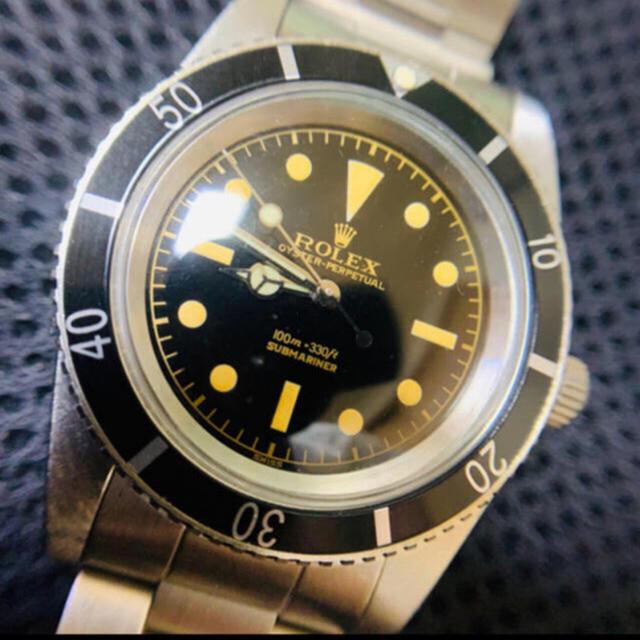 カルティエ 時計 2ch - ROLEX - 5508 サブ 防水ケース リューズガード無し 修理用部品等 ミラーダイヤルの通販 by chibi1019's shop