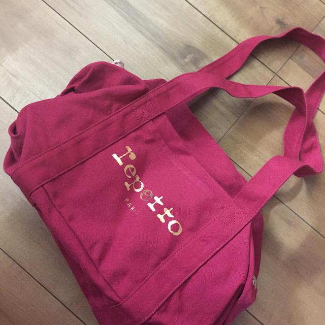 repetto(レペット)のレペット コットンキャンバスショルダーバッグ レディースのバッグ(ショルダーバッグ)の商品写真