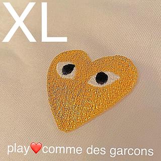 コムデギャルソン(COMME des GARCONS)のplay❤️comme des garcons 新品未使用 XL(Tシャツ/カットソー(半袖/袖なし))
