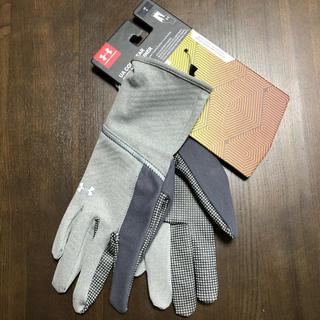 アンダーアーマー(UNDER ARMOUR)のアンダーアーマー コールドギア スマホ対応 手袋 LG 未使用(手袋)