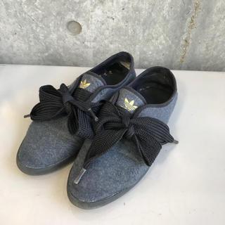 アディダス(adidas)の24.5cm アディダス リレースロー リボンスニーカー(スニーカー)