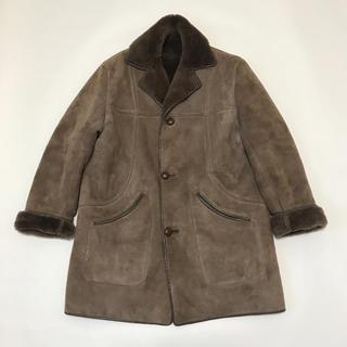 ドゥーズィエムクラス(DEUXIEME CLASSE)の④ Vintage ムートン シープスキン コート イギリス製 アパルトモン(ムートンコート)