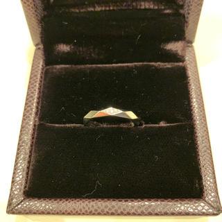 ブシュロン(BOUCHERON)のブシュロン リング ファセット ダイヤ入り(リング(指輪))