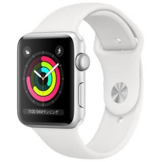 アップルウォッチ(Apple Watch)の新品未使用 未開封 Apple Watch Series 3 GPS 42mm (スマートフォン本体)