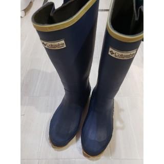コロンビア(Columbia)の☆コロンビア ネイビー レインブーツ 雨&雪OK(レインブーツ/長靴)