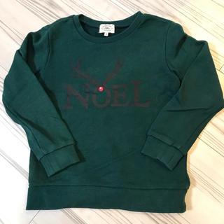 グリーンレーベルリラクシング(green label relaxing)の【greenlabelrelaxing 】トレーナーサイズ115 クリスマス(Tシャツ/カットソー)