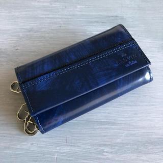 ランバンオンブルー(LANVIN en Bleu)のランバンオンブルー グラン小銭入れ付キーケース(コインケース/小銭入れ)