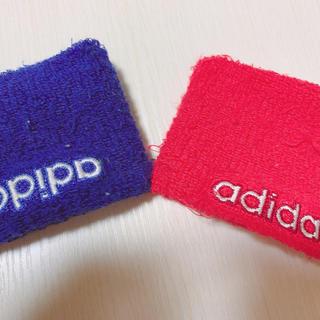 アディダス(adidas)のリストバンド(バングル/リストバンド)