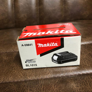 マキタ(Makita)のマキタ 10.8v リチウムバッテリー(バッテリー/充電器)