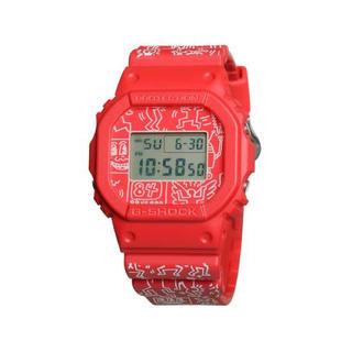 ジーショック(G-SHOCK)のKeith Haring キースヘリング G-SHOCK  gショック 未使用(腕時計(デジタル))