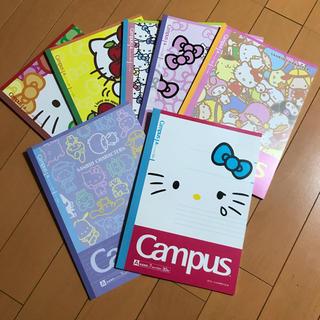 サンリオ(サンリオ)の♡ハローキティ Campusノート♡(ノート/メモ帳/ふせん)