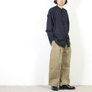 コモリ(COMOLI)のstudio nicholson blake pants mサイズ(チノパン)