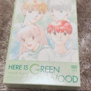ハクセンシャ(白泉社)のここはグリーンウッド☆DVDセット全3巻☆初回BOX付き(アニメ)